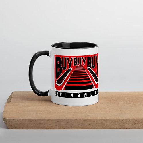 Buy Buy Buy Pinball Mug BLACK