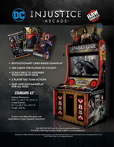 DC Comics Injustice Arcade