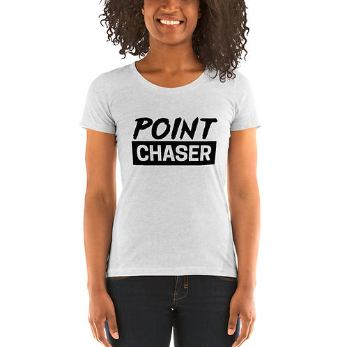 Point Chaser Ladies Tri-blend Short Sleeve Shirt