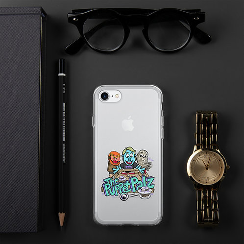 The Puppet Palz iPhone Case CLEAR