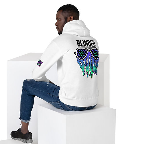 Blinded By D-wight BLUE/GREEN Unisex Hoodie