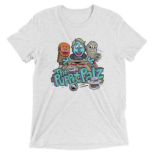 The Puppet Palz Short Sleeve Tri-blend Shirt