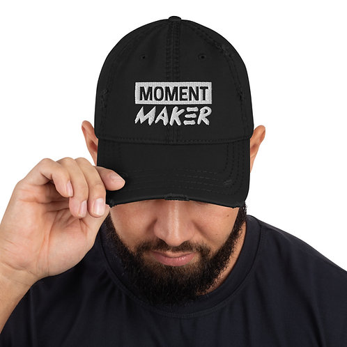 Moment Maker Distressed Dad Hat