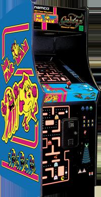 Ms. PacMan/Galaga Arcade