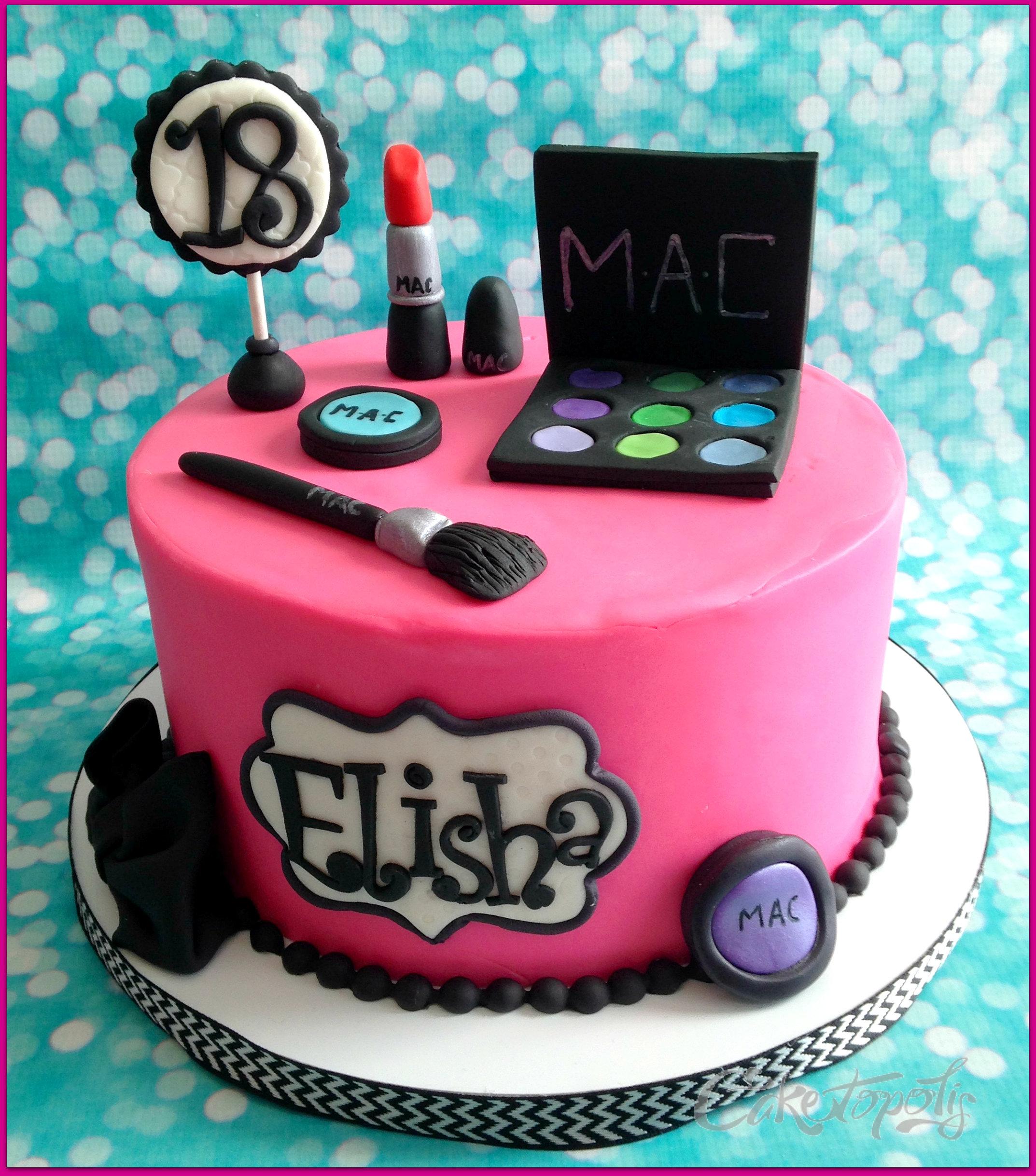 Makeup Cake Images