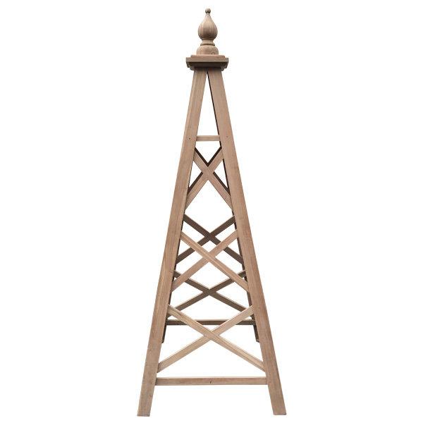 Large Wooden Garden Obelisk Mysite
