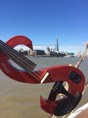 Violin on the Thames