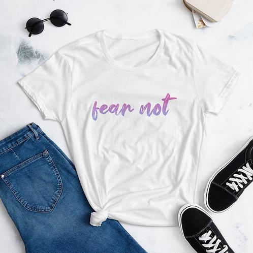 Fear Not Purple Ombre Women's short sleeve t-shirt