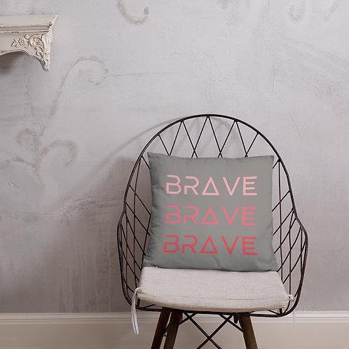 BRAVE Accent Pillow