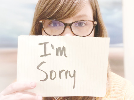 I Need to Say I'm Sorry: A Brave Confession for God's Girls