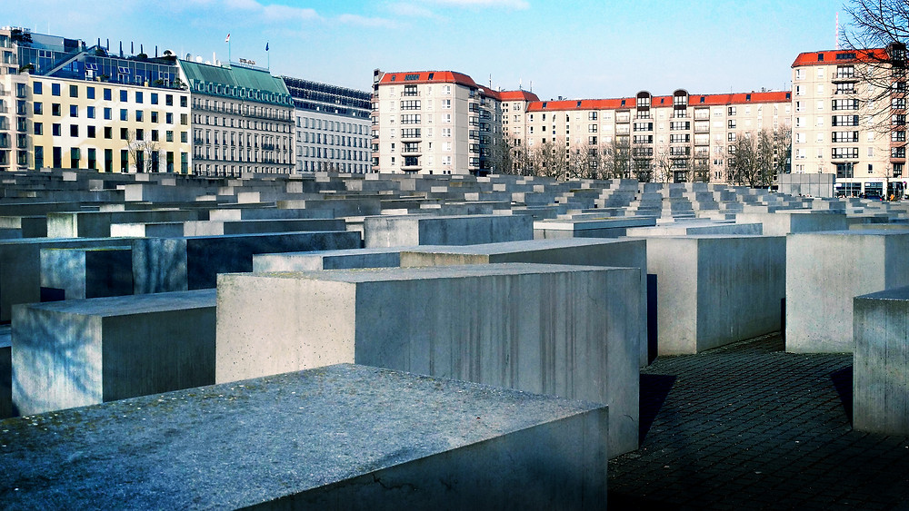 Holocaust Memorial central Berlin