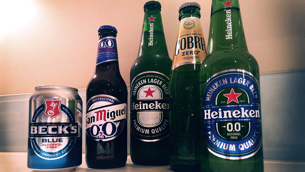 Popular alcohol free beers