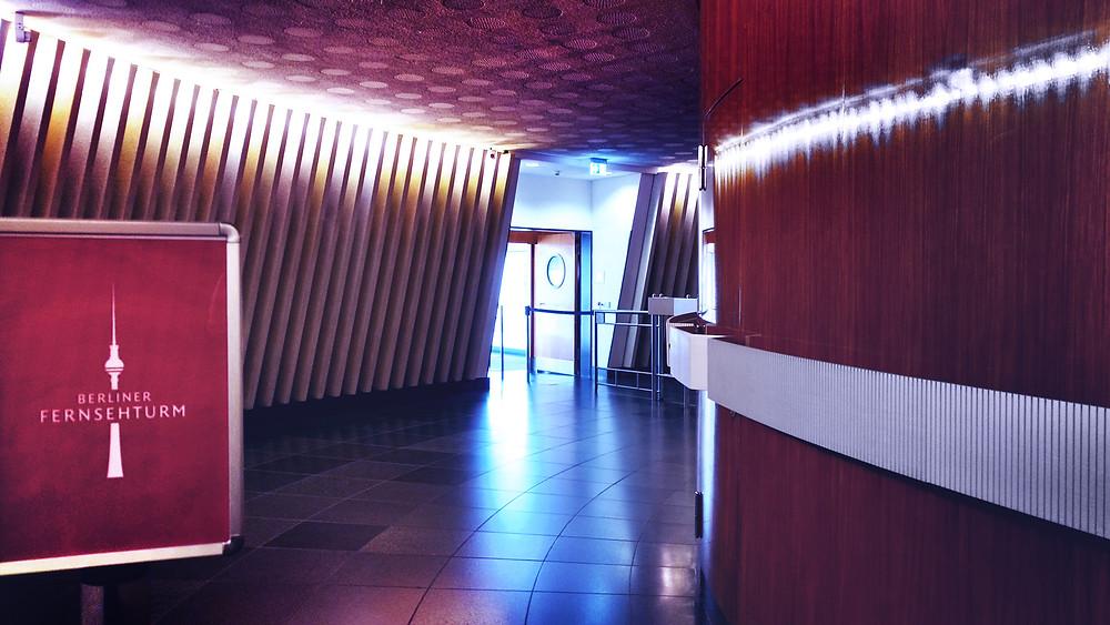 Berlin Fernsehturm foyer