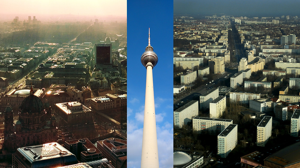 Berlin view - East meets West