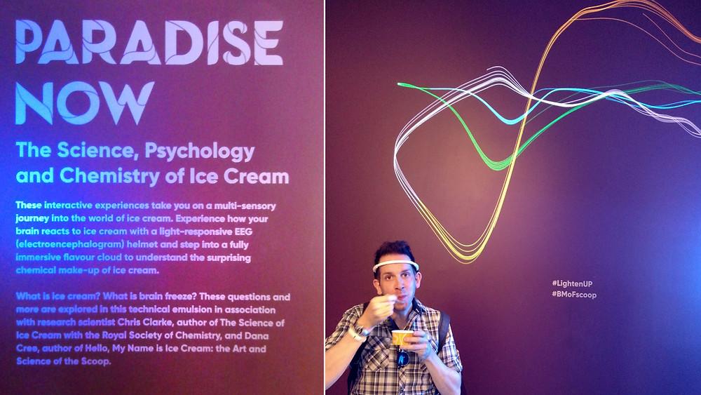 The EEG ice cream experience at Scoop