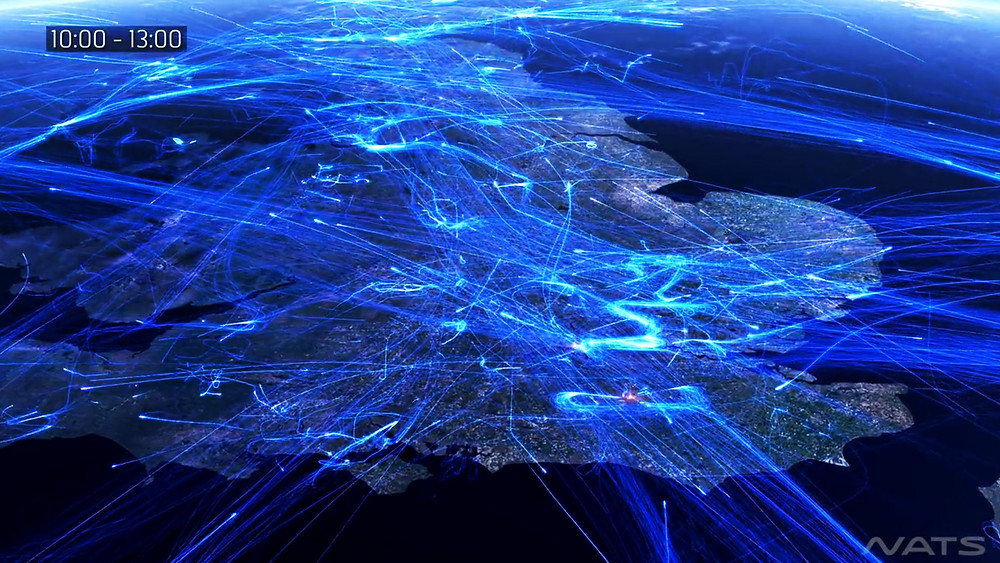 NATS Air Traffic Data Visualisation UK