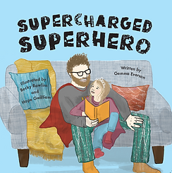 Supercharged Superhero Cover