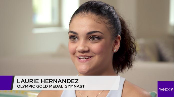 Raising A Pro: Laurie Hernandez