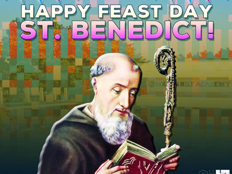 St Benedict of Nursia - To Work and to Pray as a Rule of Life