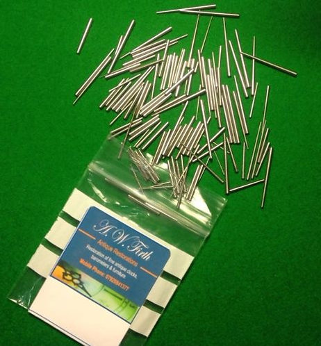 Bag of 100 tapered pins (assorted)