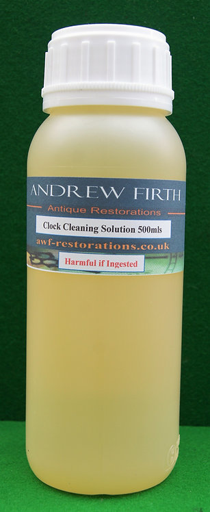 Clock cleaning solution 500ml