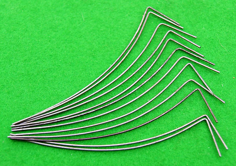 Pack of 12 wire click springs