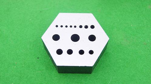 Hexagonal staking plate