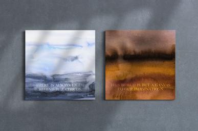 Canvas art WATERCOLOR