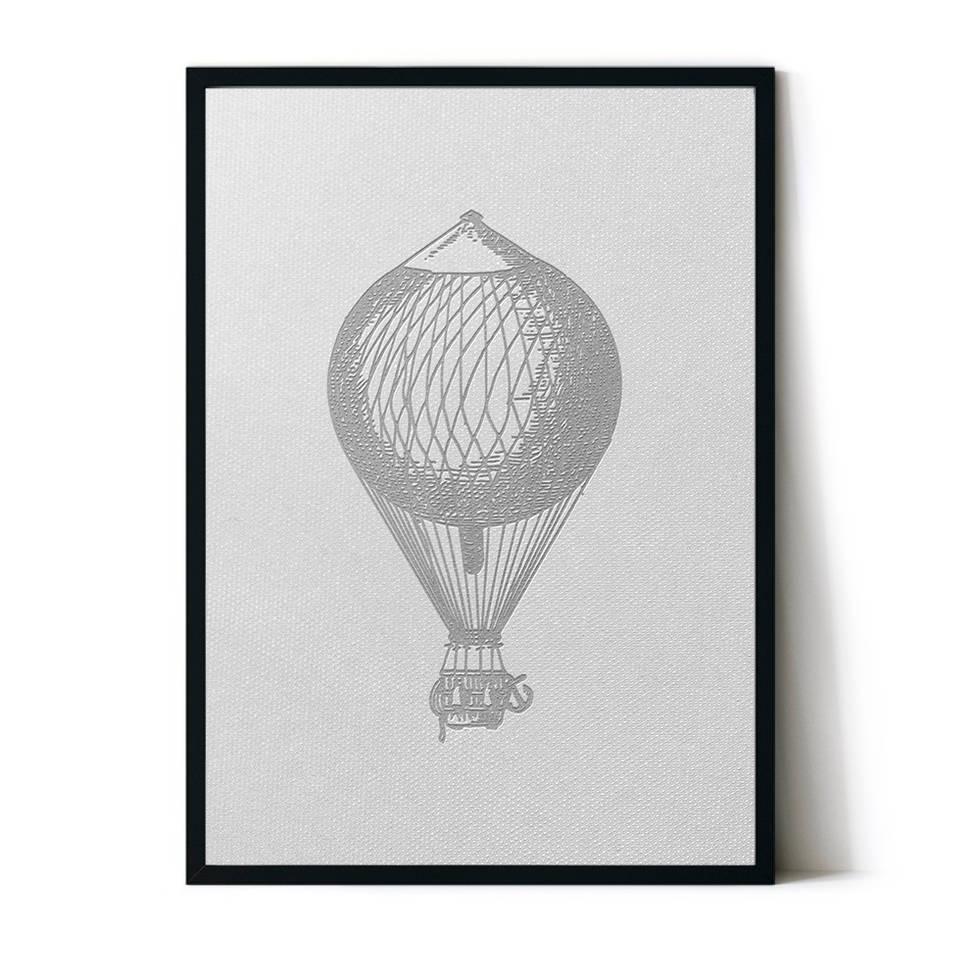 art poster balloon design