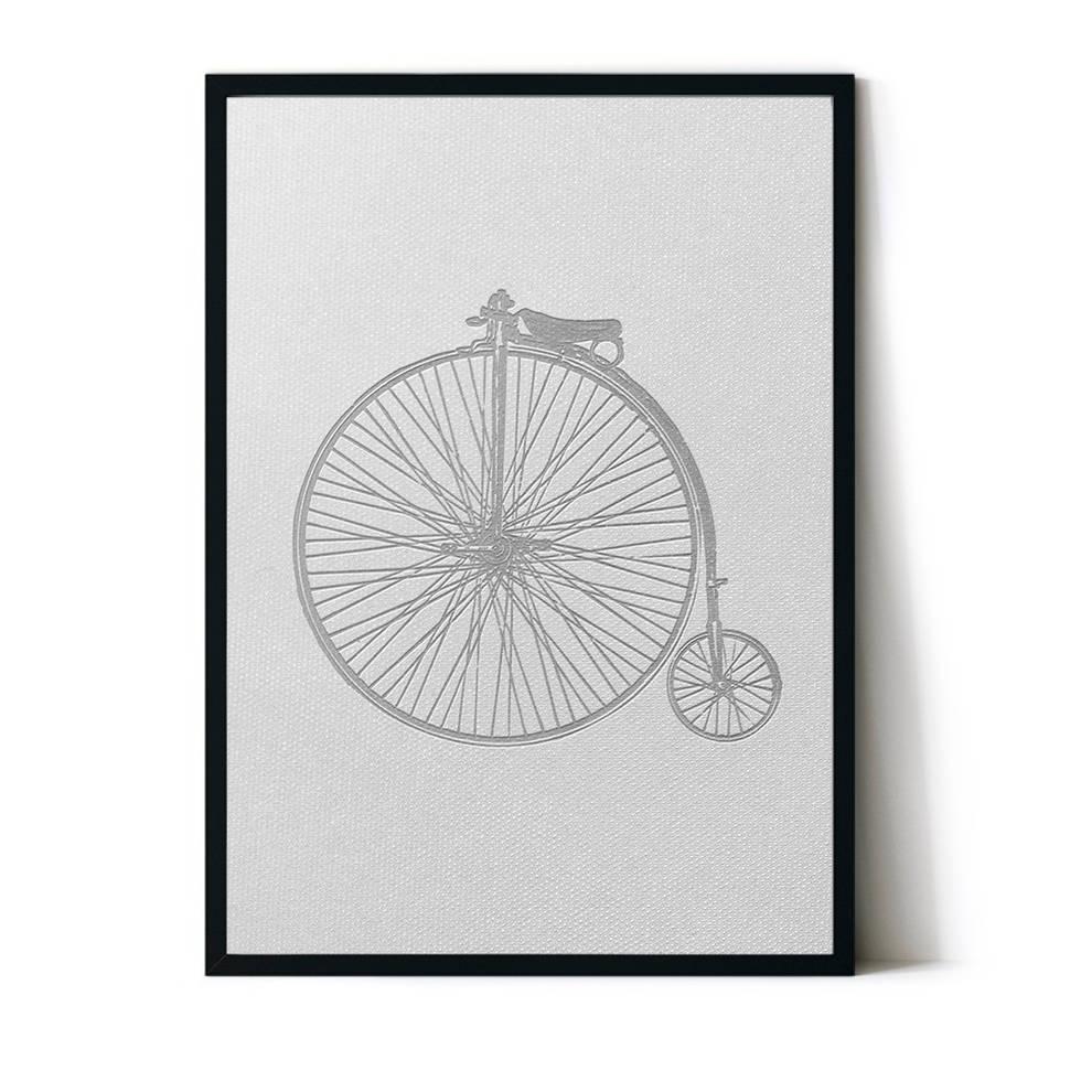 art poster design bicycle