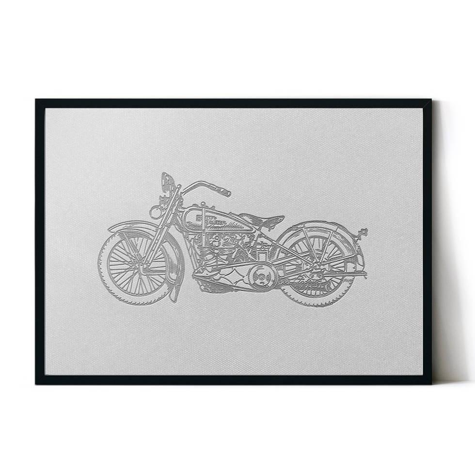 art poster bike design