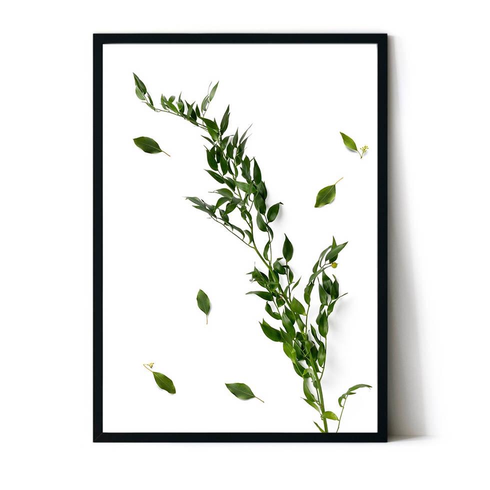art poster leaf design