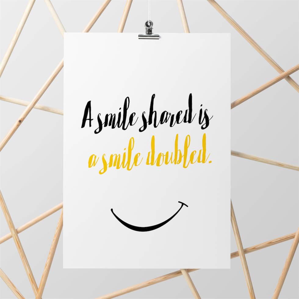 art poster smile design
