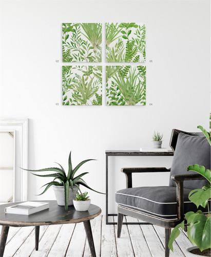Canvas art botanical
