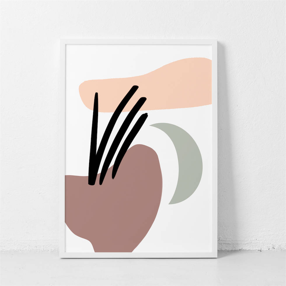 art poster abstract design