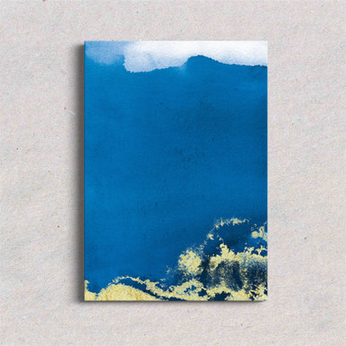 Canvas art Royal Blue