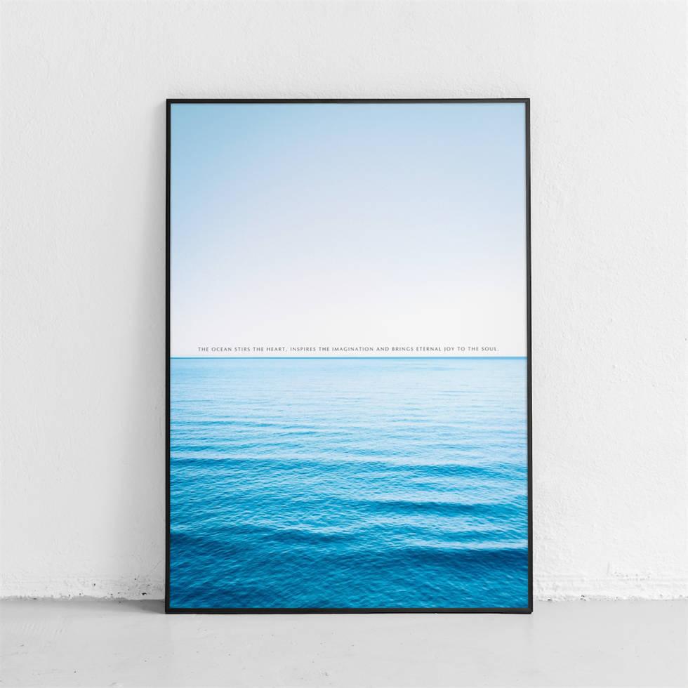 art poster horizontal line design