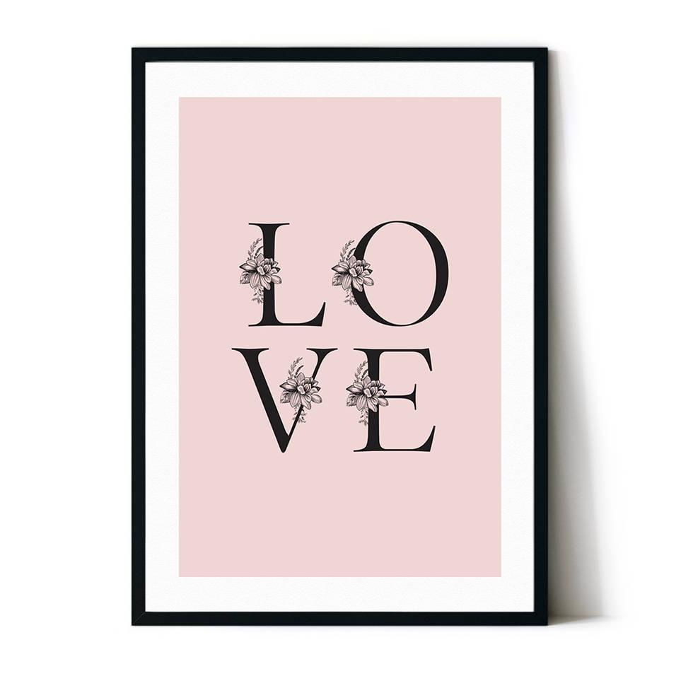 art poster love design