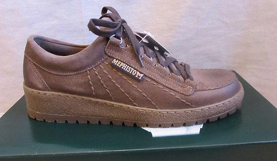 Mephisto 'Rainbow' Sportbuck Shoes in Dark Brown Clint (12451)