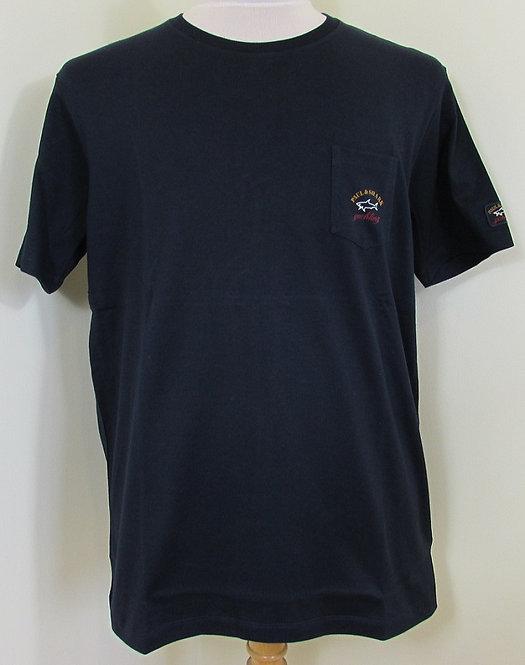 C1P11105I Paul & Shark Tee Shirt in Navy (150)