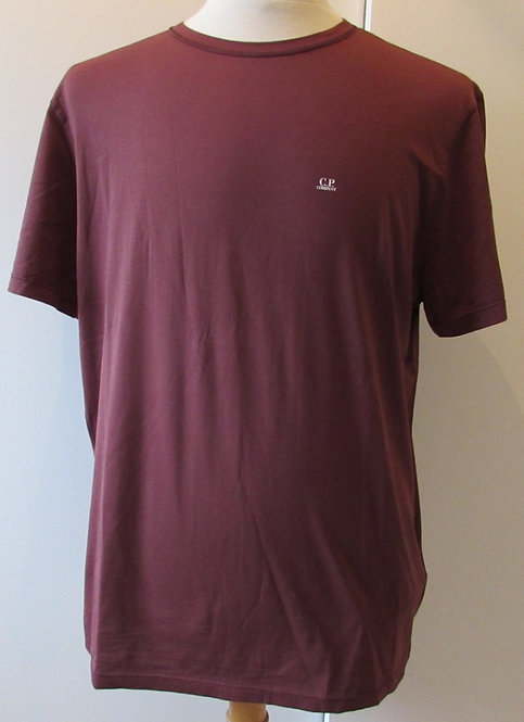 03CMTS156A C.P. Company 'Mako Cotton' Tee Shirt in Red (592)