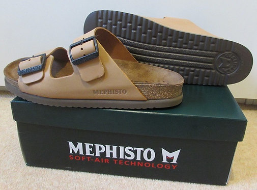 Mephisto 'Nerio' Shoes in Camel Scratch (3431N)