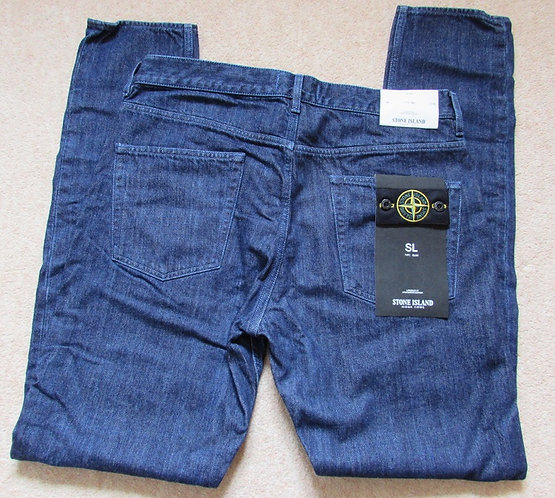 6515J13P3 Stone Island SL Jeans in Dark Denim (DARK)