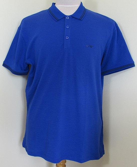 8N6F30 6JPTZ Armani Jeans Polo Shirt in Bluette (1589)