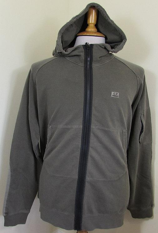 06CMS233A C.P. Company Hooded Full Zip in Cloudburst (922)