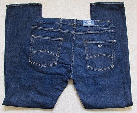 6X6J45 6D04Z J45 Armani Jeans Slim Fit in Dark Denim (BLU)