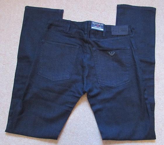 B6J84 4H J45 Armani Jeans Regular Fit in Dark Denim (Denim)