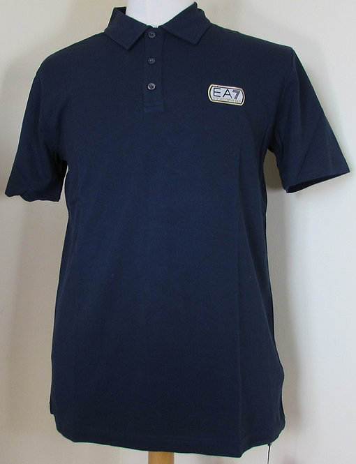 6P276 EA7 Emporio Armani Polo Shirt in Blue Notte (00040).