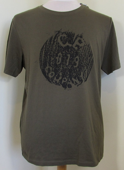 06CMTS153A C.P. Company Tee Shirt in Khaki (672)