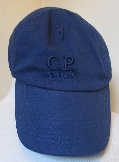 CMAC113A000583A C.P. Company Baseball Cap in Blue (879)